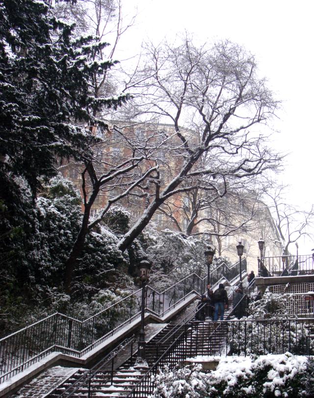 Beautiful Paris in the snow!