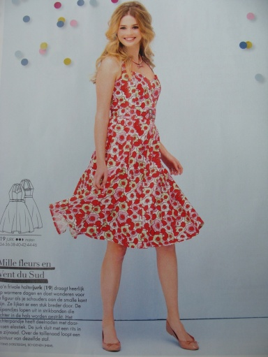By far my favourite dress from this issue! I'm definitely making this for the summer.