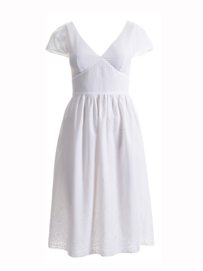 Pretty, simple summer dress - but I'd probably do an A-line or pleated skirt.