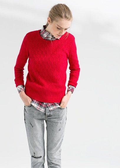 sweaterandshirt